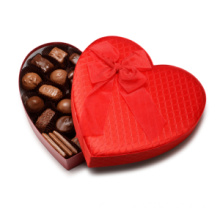 Luxury Matt Heart Chocolate Gift Box Packaging Paper